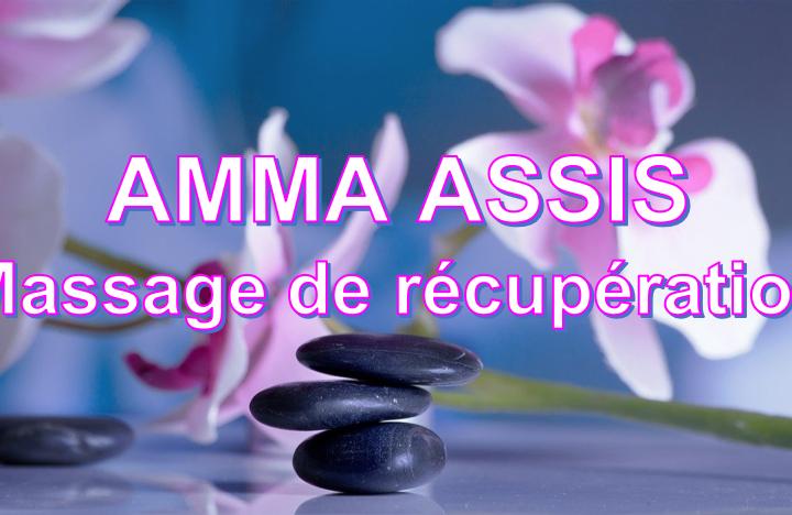 Massage Amma assis anti-stress relaxant très dynamisant