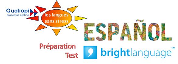 Espagnol préparation au test BRIGHT – CPF