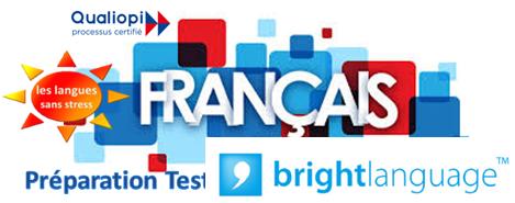 Français FLE préparation test Bright  – CPF