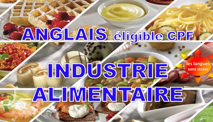 Anglais des métiers de l'industrie alimentaire – CPF