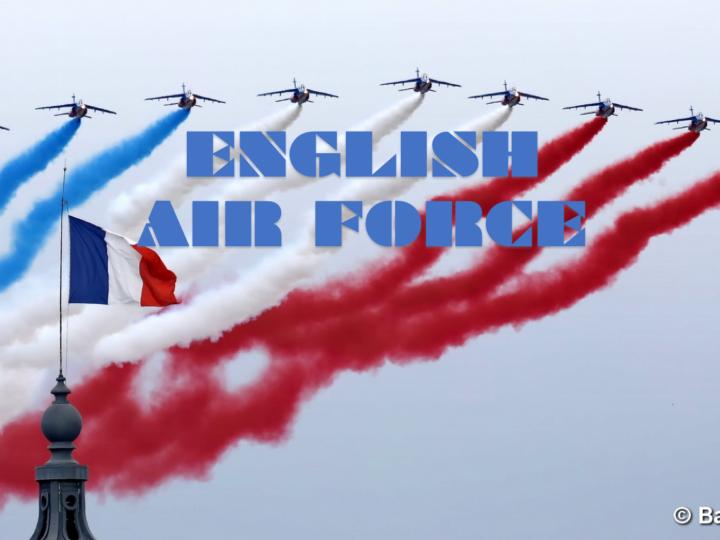 Anglais-métier  AIR FORCE
