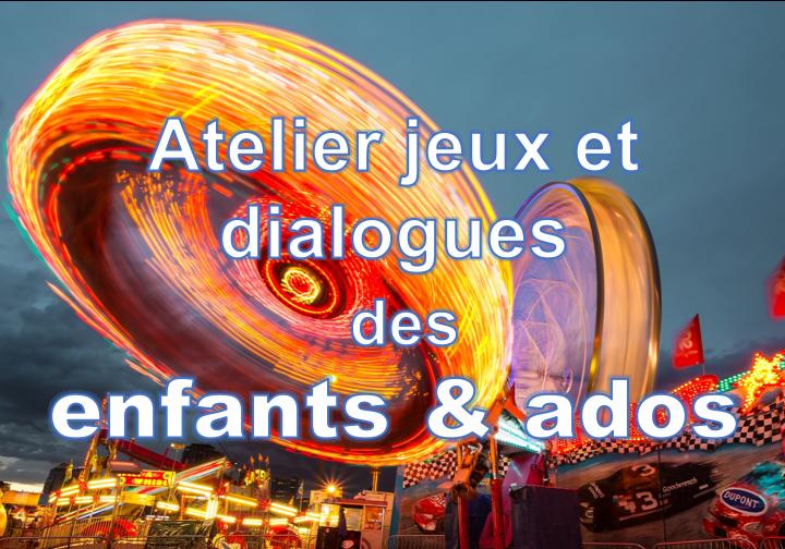 Français ludique des 6-15 ans en atelier jeux et conversation